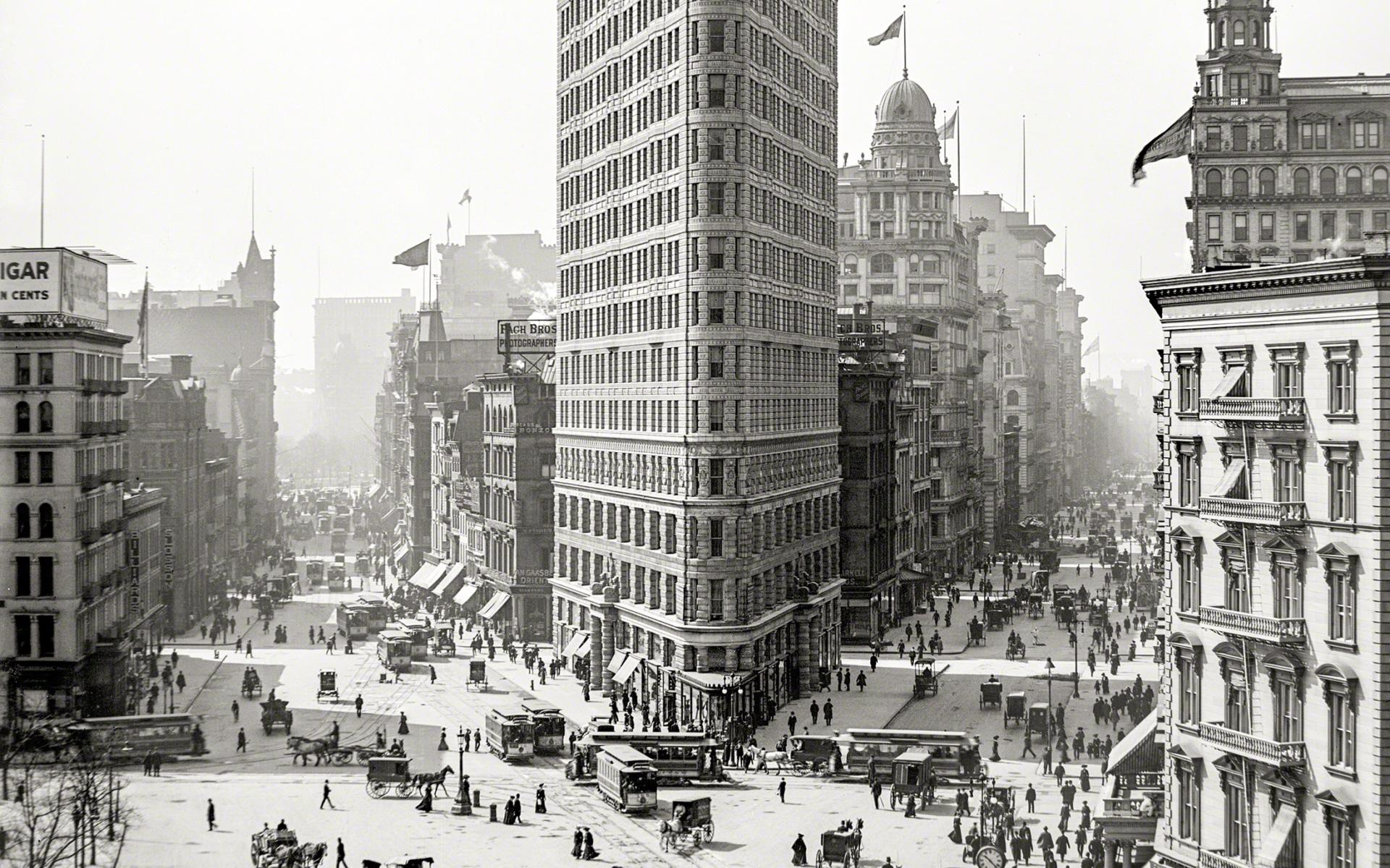 Название: 1903_New York_Flatiron Building.jpg Просмотров: 207  Размер: 1.31 Мб