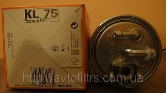Название: Дизельный топливный фильтр KL75 avtoiltrs com ua.jpg Просмотров: 89  Размер: 54.7 Кб