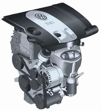 Двигатель FSI 1,6 л/85 кВт