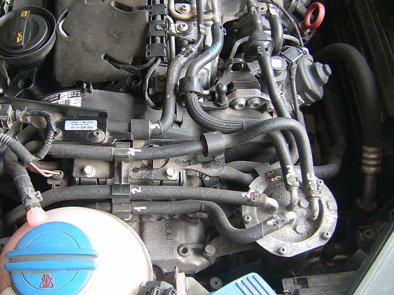 Пассат б6 2.0 тди cbab двигатель