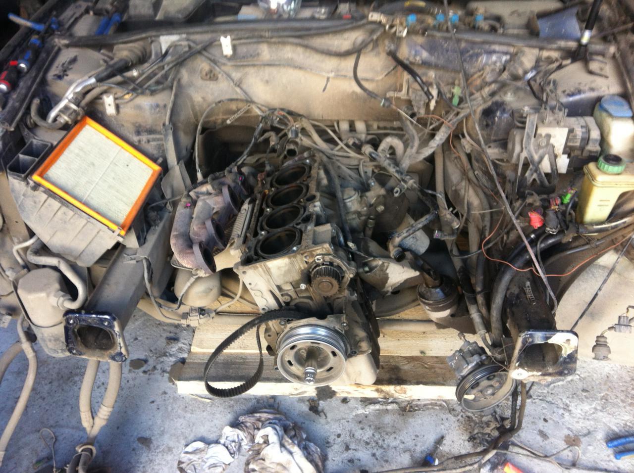 схема системы охлаждения двигателя audi a4 b5